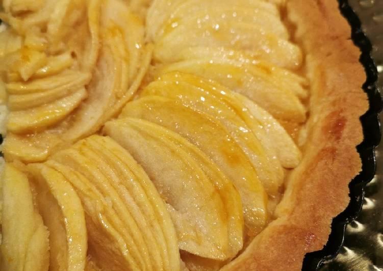 Recette Parfait Tarte aux pommes classique