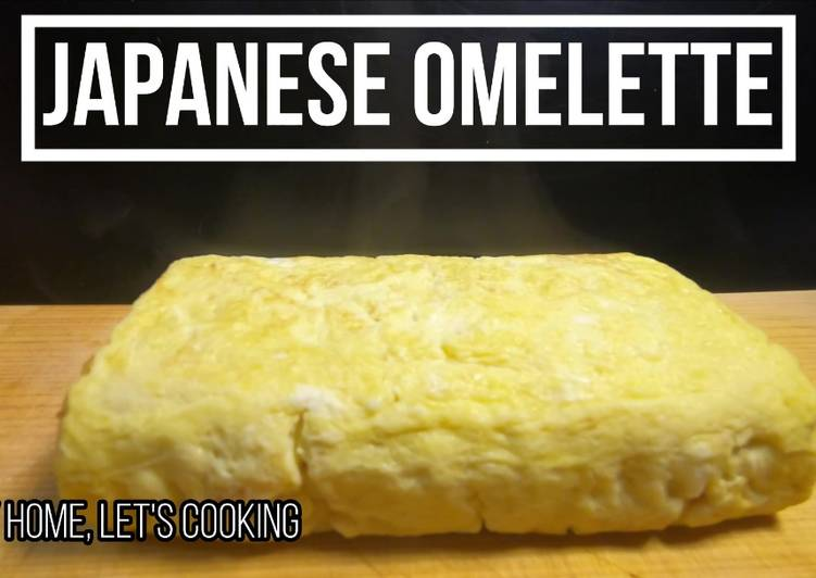 Easiest Way to Cook Delicious Japanese Omelette / Dashimaki  Tamago. Basic Recipe