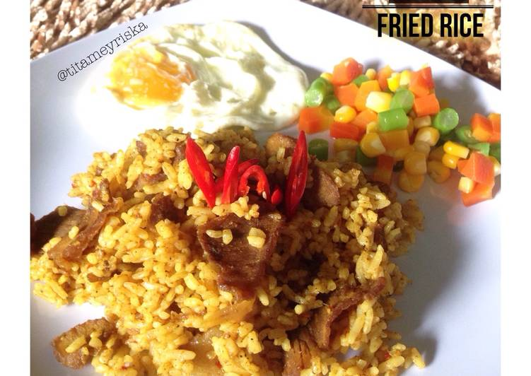Curry Fried Rice (nasi goreng kari)