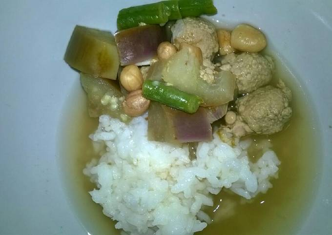Day. 206 Sayur Asem Bola-bola Daging (12 month+)