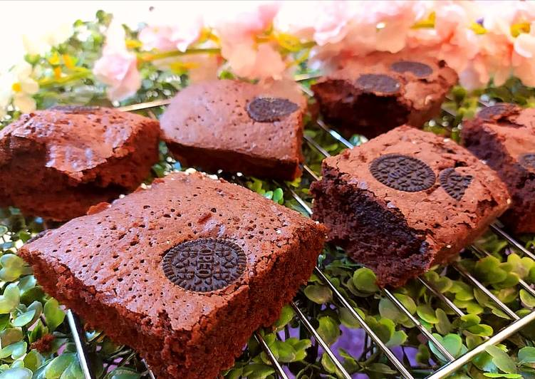 Recipe: Perfect Oreo fudge brownies