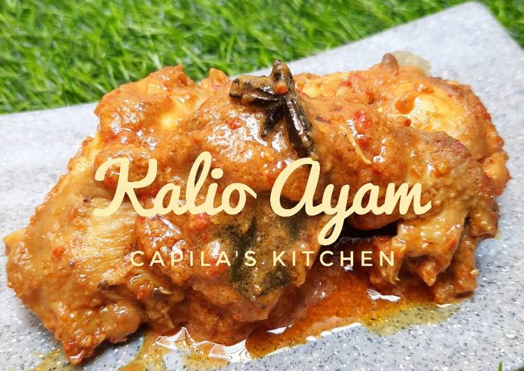 bagaimana  menyiapkan kalio ayam  enak umi resep Resepi Ayam Masak Rempah Berkuah Enak dan Mudah