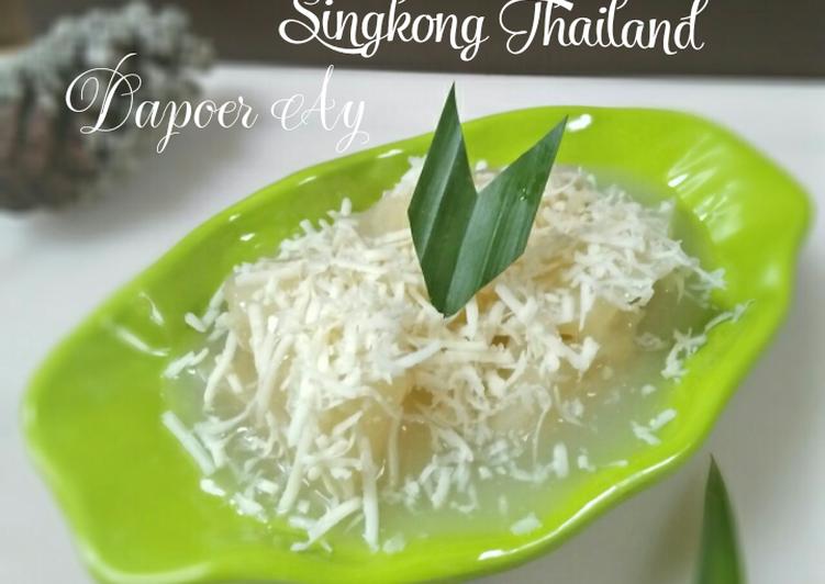 Singkong Thailand ala Ratih