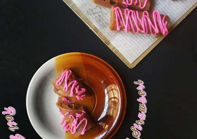 Roti Jala DutchLady Coklat Dengan Coklat Strawberi #TicerZT