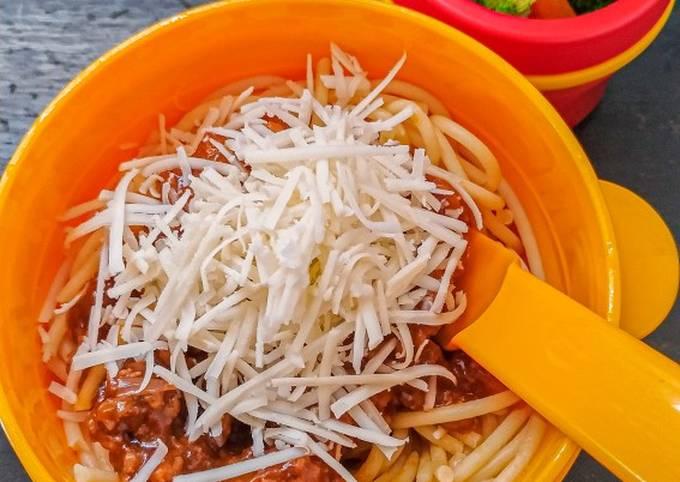 Spaghetti Bolognese – Bekal Kantor