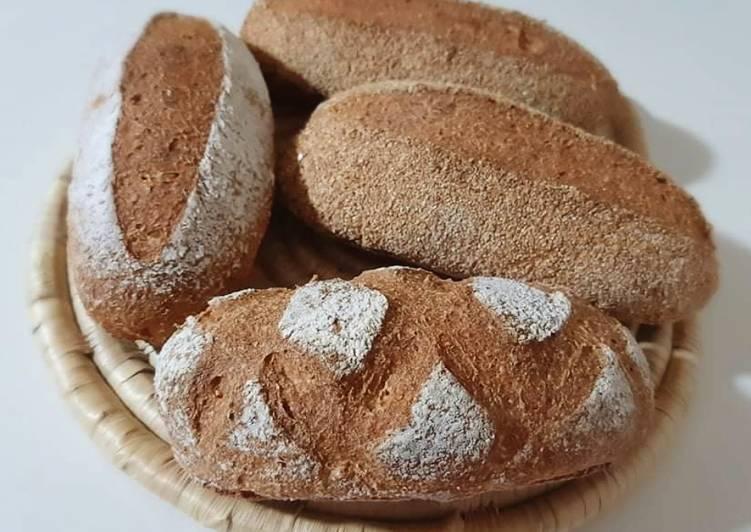 Recette Délicieuse Petits pains complets 🍞