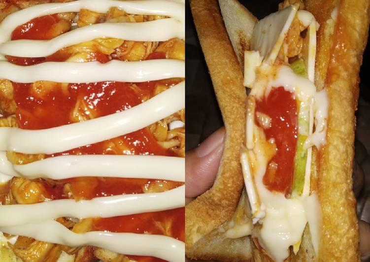 Sandwich pedas