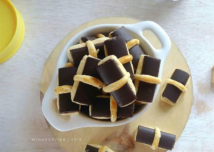 Chocolate Stick Cookies Ny Liem