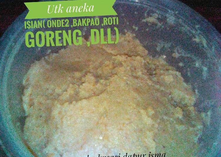 Resep Kacang Hijau utk aneka isian (onde2,bakpao,roti goreng,dll) Paling Enak