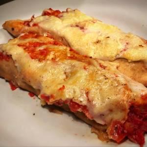 Canelones integrales light de espinaca con ricota y de carne. Muy livianos, saludables y exprés !!?