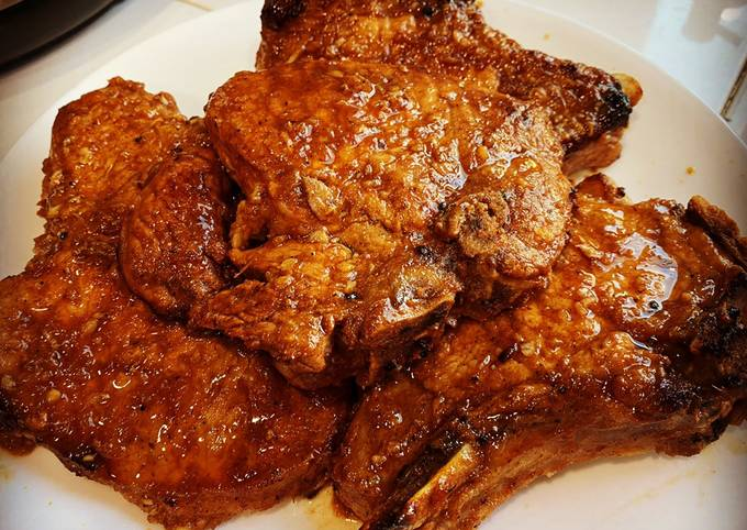 Pork Chops with Tamarind and Ginger