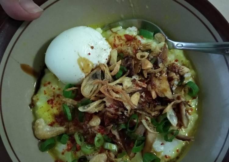Bubur ayam rumahan (no msg)