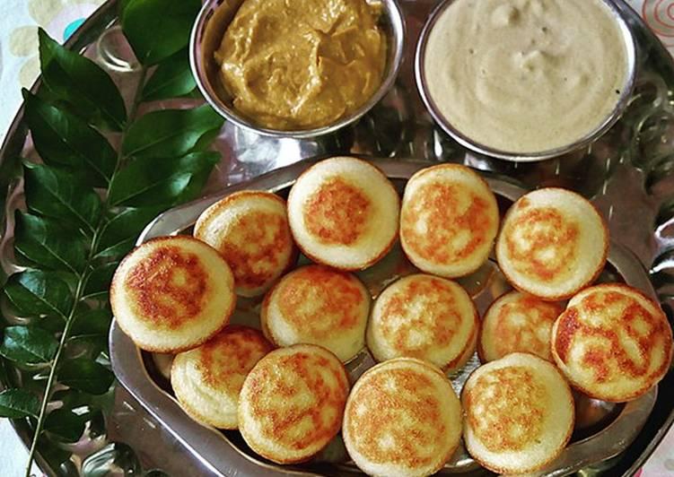 Easiest Way to Prepare Award-winning Paniyaram/Guntaponganalu (Using leftover idly/dosa batter)