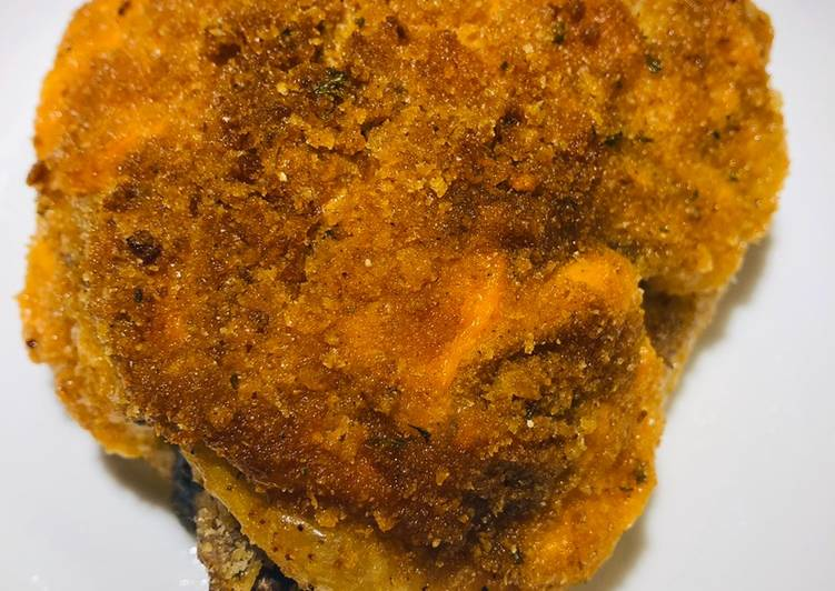 Easiest Way to Make Perfect Crispy Baked Mayo Chicken ? Thighs