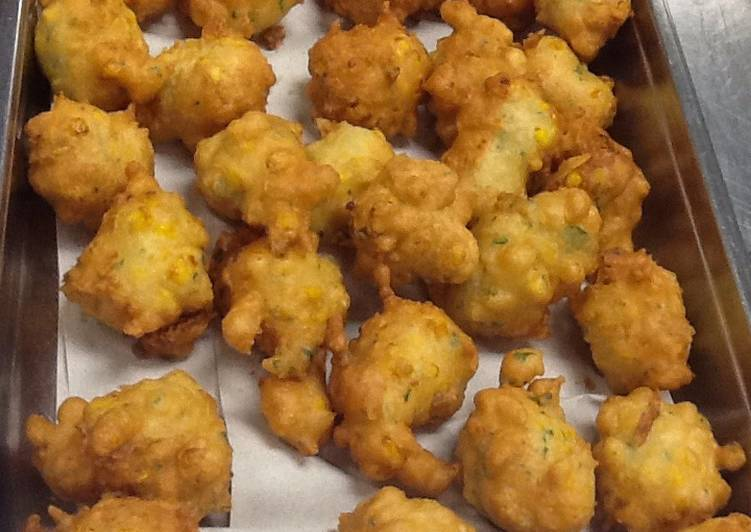 How to Make Award-winning Corn Fritters