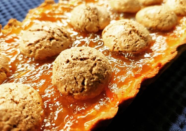 Ricetta Crostata con marmellata e amaretti