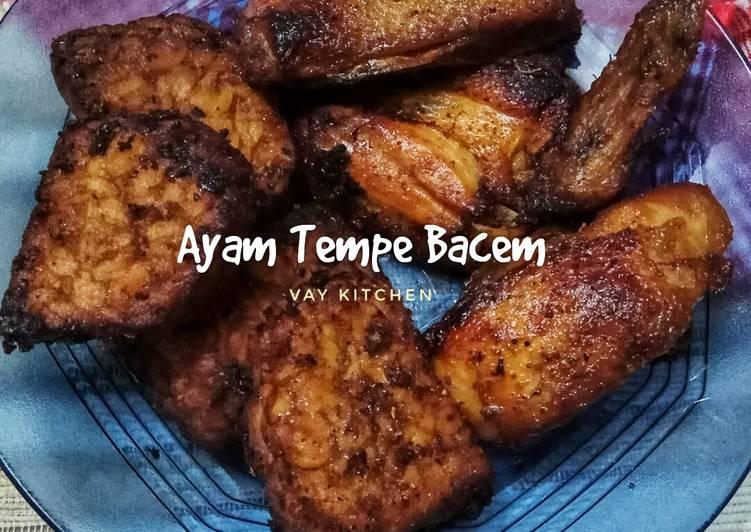 Ayam Tempe Bacem (Tanpa Air Kelapa)