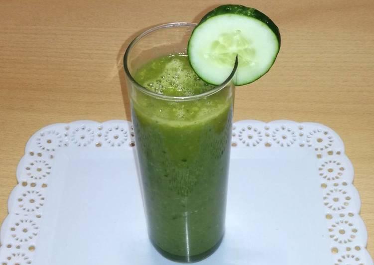 Batido Detox de frutas y verduras