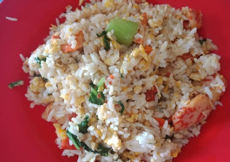 Resep Nasi goreng simple Paling Gampang