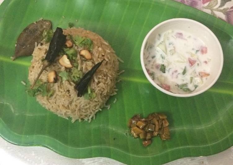 Coconut milky rice