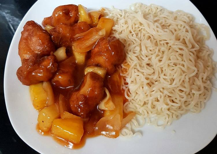 How to Prepare Ultimate Sweet & Sour Battered Chicken with Pineapple 🤗