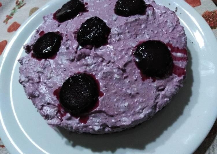 Cheesecake o semifreddo con mascarpone e marmellata