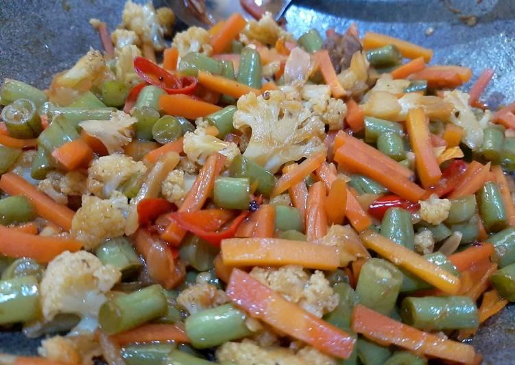 Resep Tumis Buncis Wortel Dan Kembang Kol Sempurna Resep Resep Masakan Enak Mudah
