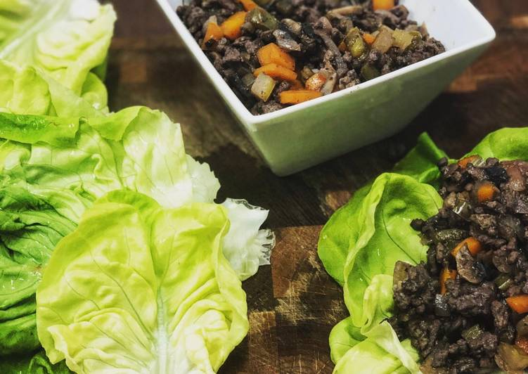 Healthy Mince Wraps