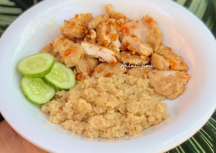 Ayam Geprek (Low Calorie)