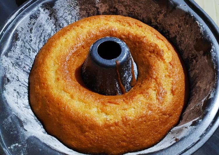 How to Make Favorite Vanilla sponge