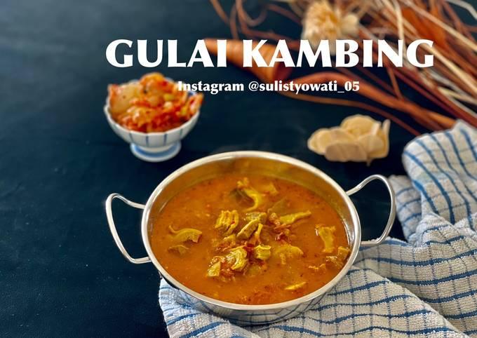 Gulai Kambing (No santan, No MSG, No minyak)
