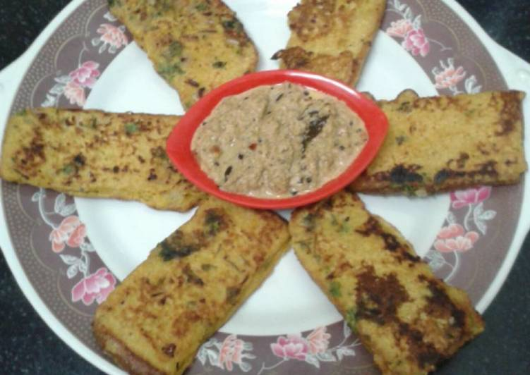 Recipe of Award-winning Savoury french toast
