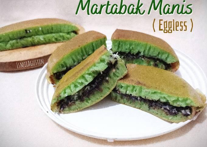 Martabak Manis Lembut Ekonomis (Eggless)