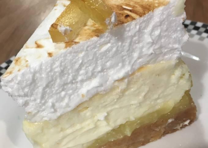Cheesecake au citron en 3 textures