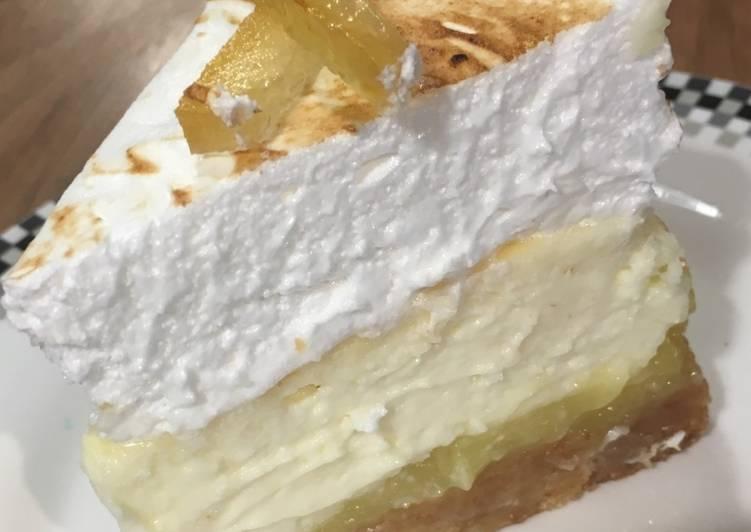 Le moyen le plus simple de Préparer Délicieuse Cheesecake au citron en 3 textures