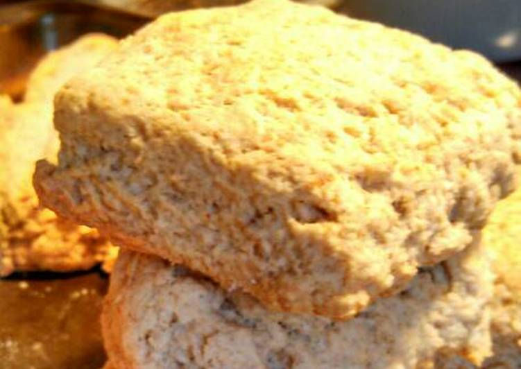 Sourdough Parmesan whole wheat biscuits