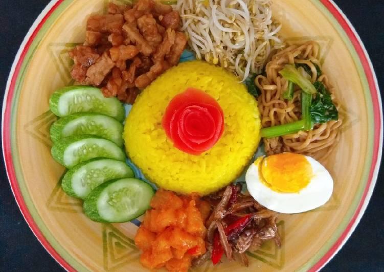 Nasi Kuning Spesial Magiccom
