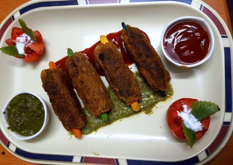 Easiest Way to Make Tasty Vegetable Seek Kebab