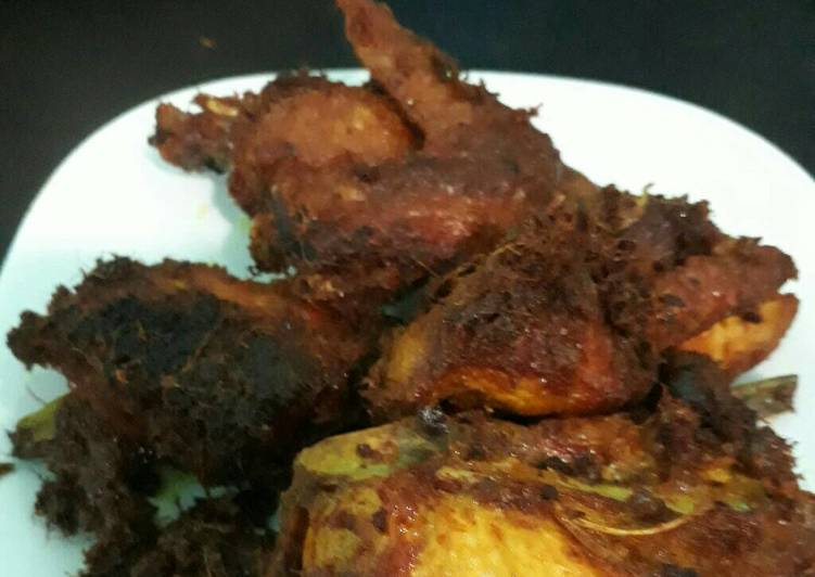 Ayam goreng berempah paling sedap