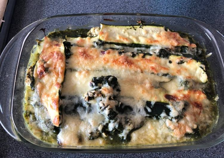 How to Cook Yummy Zucchini-Spinat-Lasagne