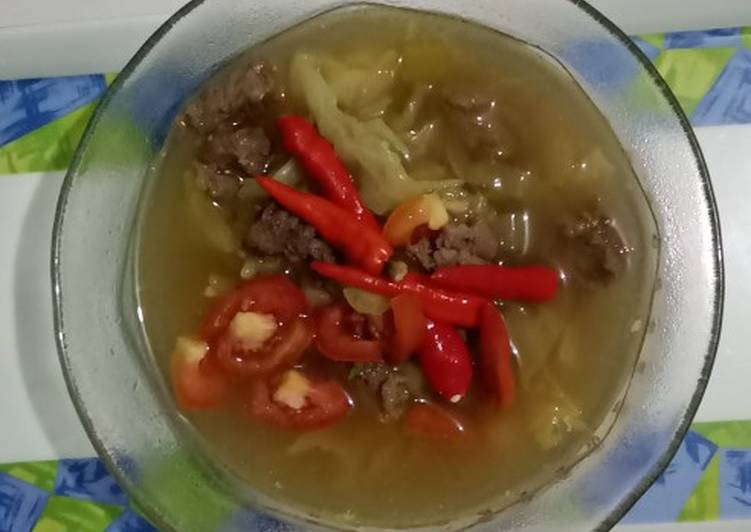 Tongseng Daging Sapi (metode 5.30.7) - cookandrecipe.com