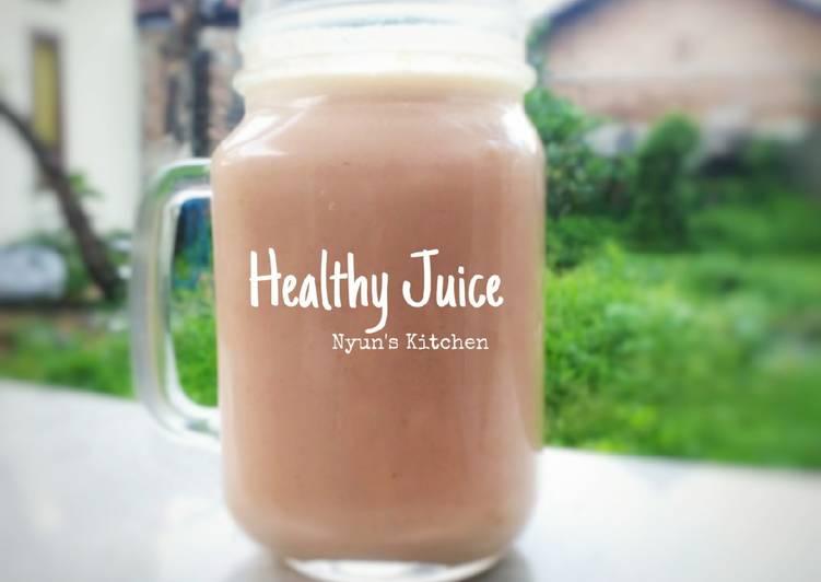 Resep Healthy Juice (wortel, pisang, jeruk, oat) Terenak