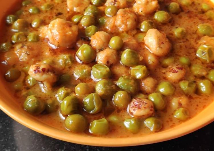 Recipe of Ultimate Matar makhane curry
