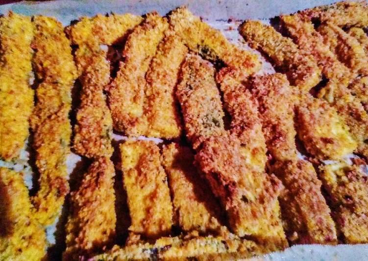 Oven Crisp Zucchini Fries