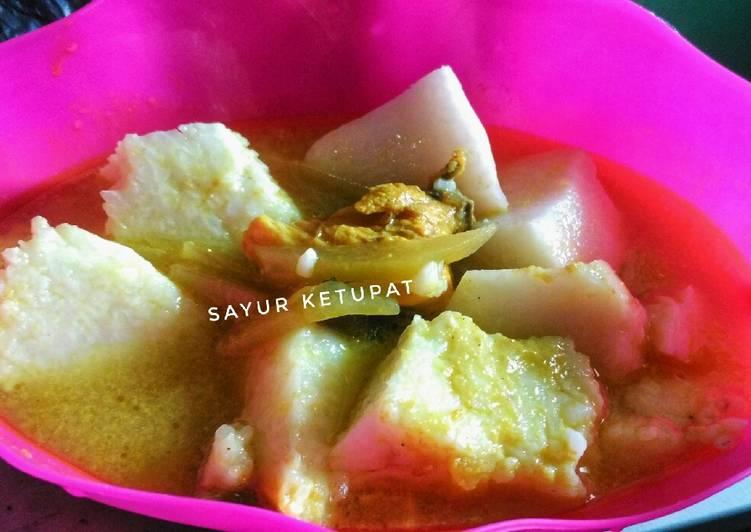 Sayur ketupat labu Siam