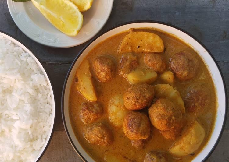 How to Make Homemade Chicken kofta curry