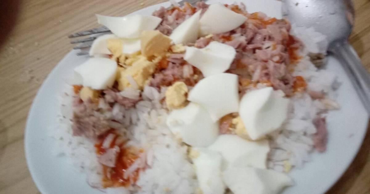 Dieta del atun arroz y lechuga