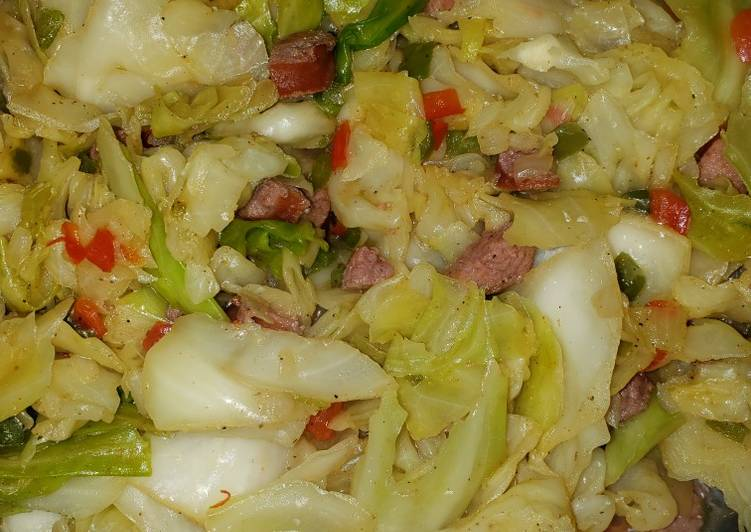 Sharon's Fried Cabbage