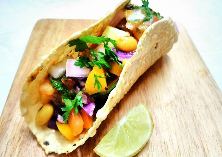 Recipe of Super Quick Homemade Papad Tacos