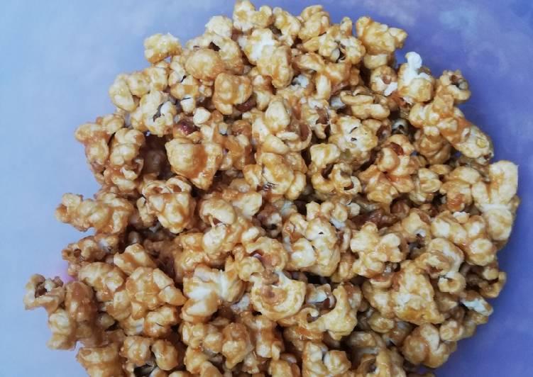 Resep Popcorn Caramel Ala Xxi Bioskop Oleh Millaty Anggana Puri